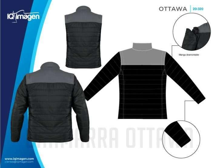 Ficha Chamarra Ottawa Detalles 2